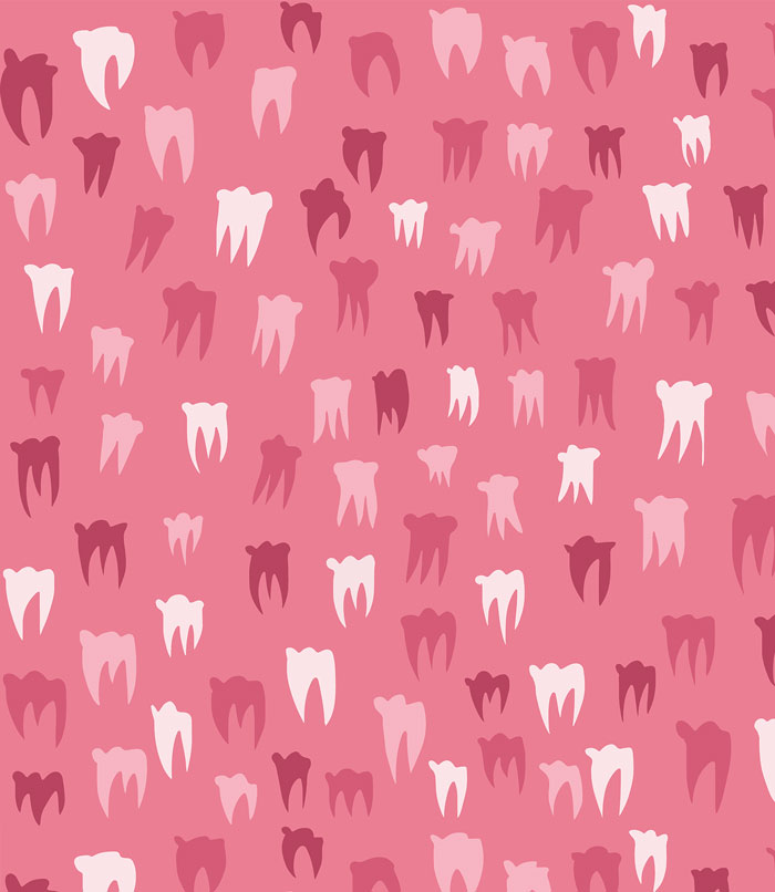 Teeth pattern by Jonas Welin