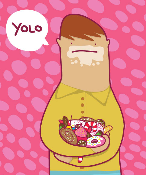 Yolo – Eat everything nice