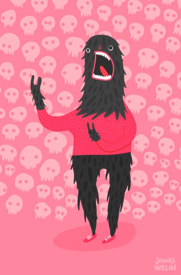 Scream face by Jonas Welin