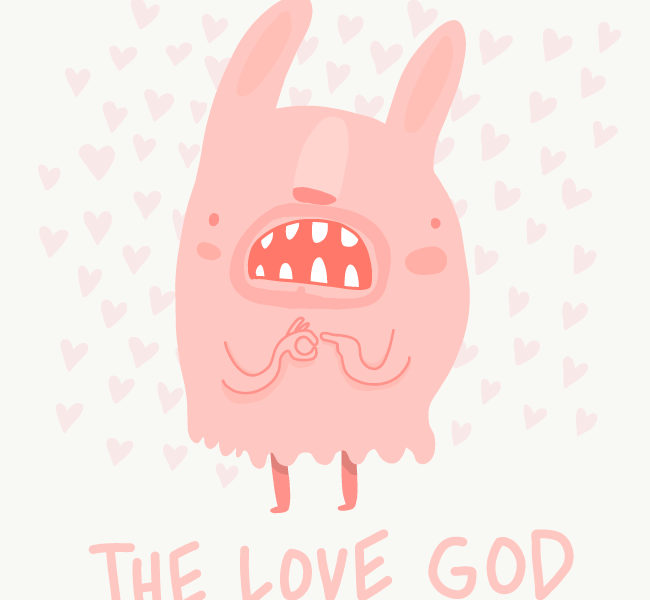 The Love god by Jonas Welin