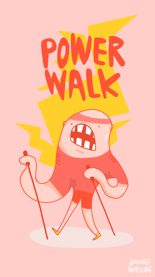 Powerwalking