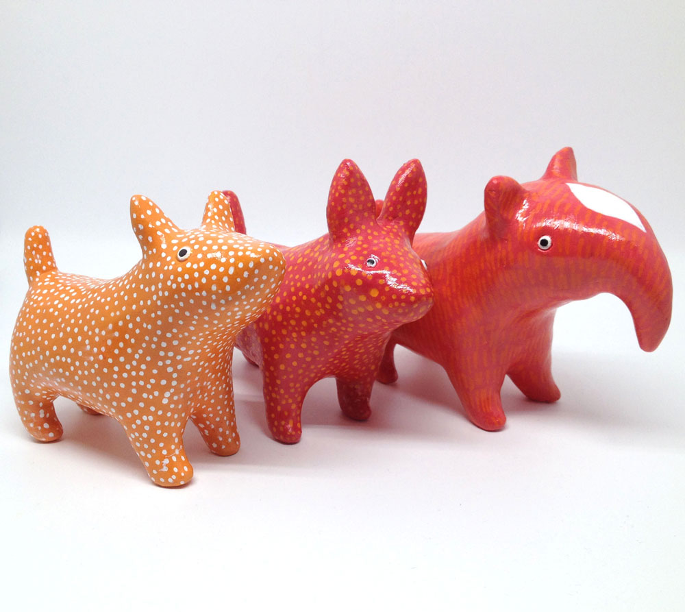 Small Animal Sculptures