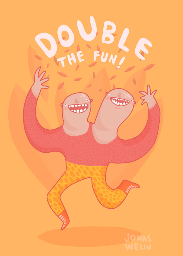 Double the fun by Jonas Welin