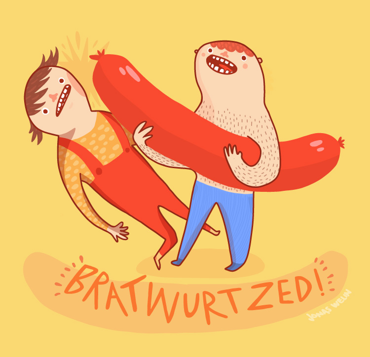 Bratwurtzed by Jonas Welin