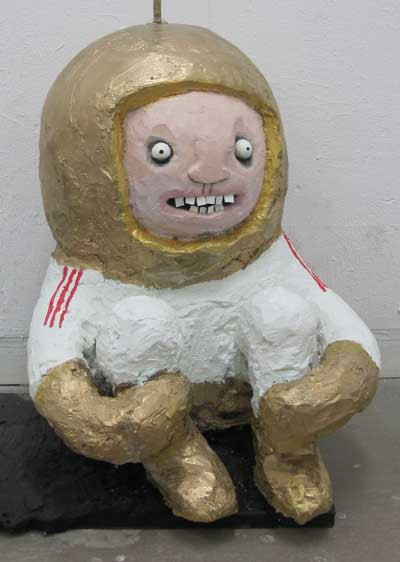 Spaceman Sculpture