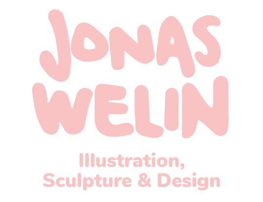 Jonas Welin - Illustrations, Sculptures & Design