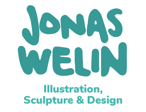 Jonas Welin - Illustration, Sculpture & Design Portfolio